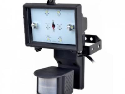 保全防盜系統 紅外線式白光LED自動感應燈 LK-R4-12