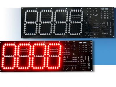 停車場管制系統 4位 8888 LED 計數燈 KL-266