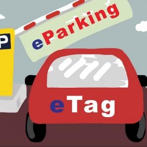 eTag 若應用於停車場 用路人將更多元便利