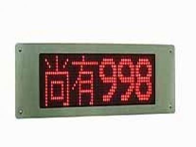 停車場管制系統 滿車燈箱車位計數系列 S-AB